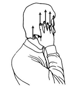 Масаж на ухо с цяла длан