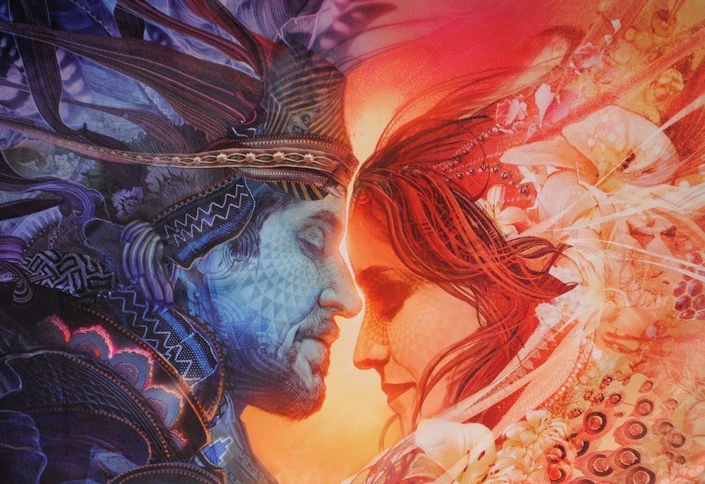 Бог и богиня на секса